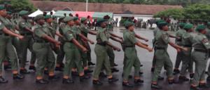 Nigerian Army 79RRI Trades/Non Tradeswomen